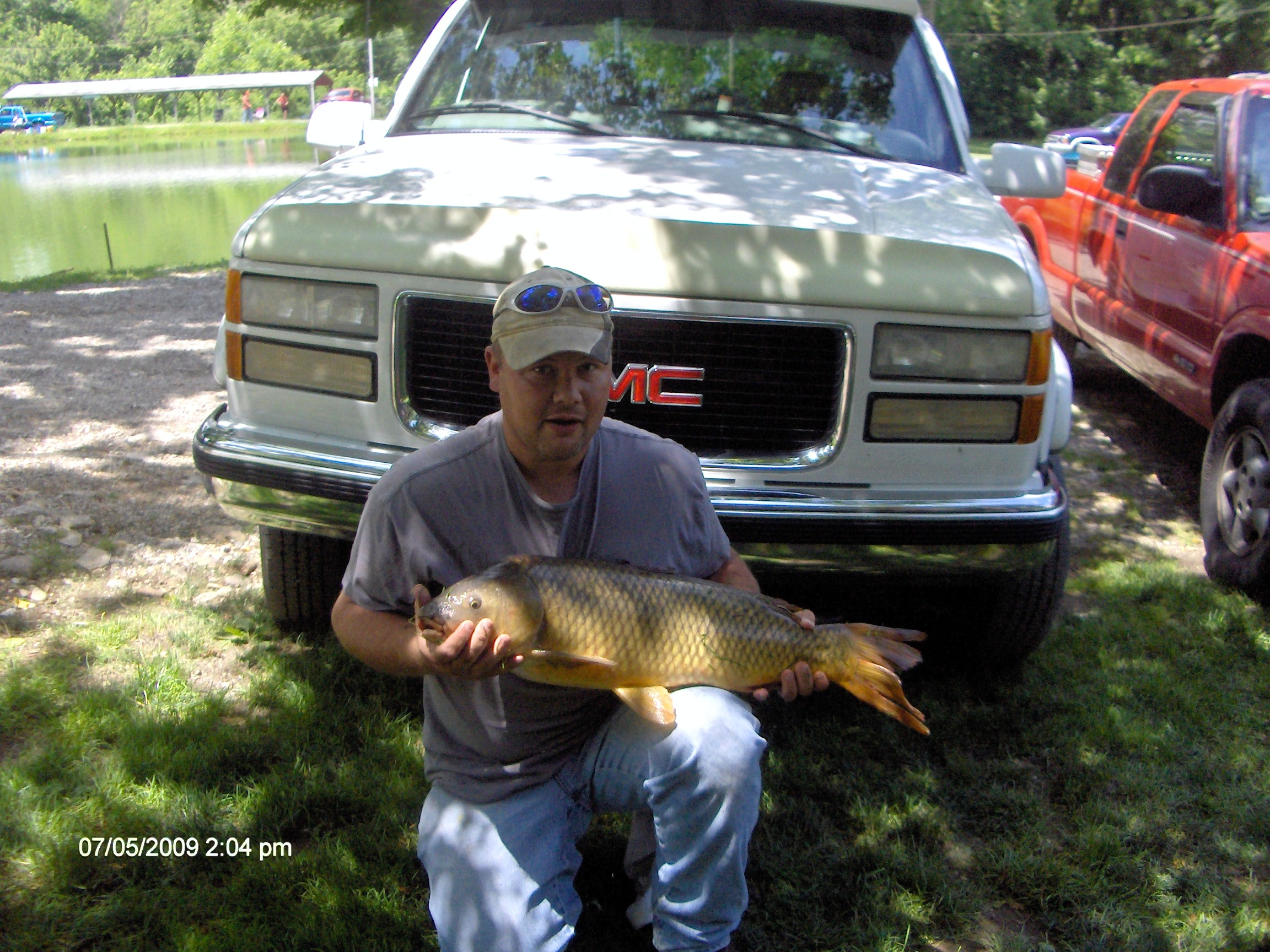 Steve Satterfield 16 lb. Carp -1st place in the Southern Paylaker Qualifier